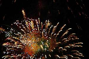 A past East Haven fireworks display