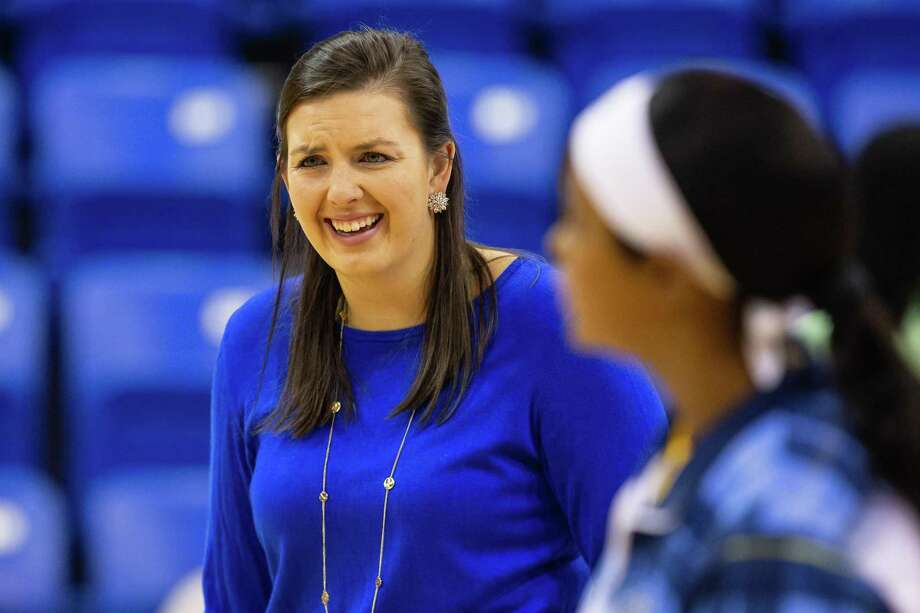 Morgan Manz, who starred at Quinnipiac and later worked on Tricia Fabbri's staff, has been named Cheshire Academy's girls' varsity basketball and volleyball coach. Photo: Contributed / Quinnipiac Athletics / © Rob Rasmussen