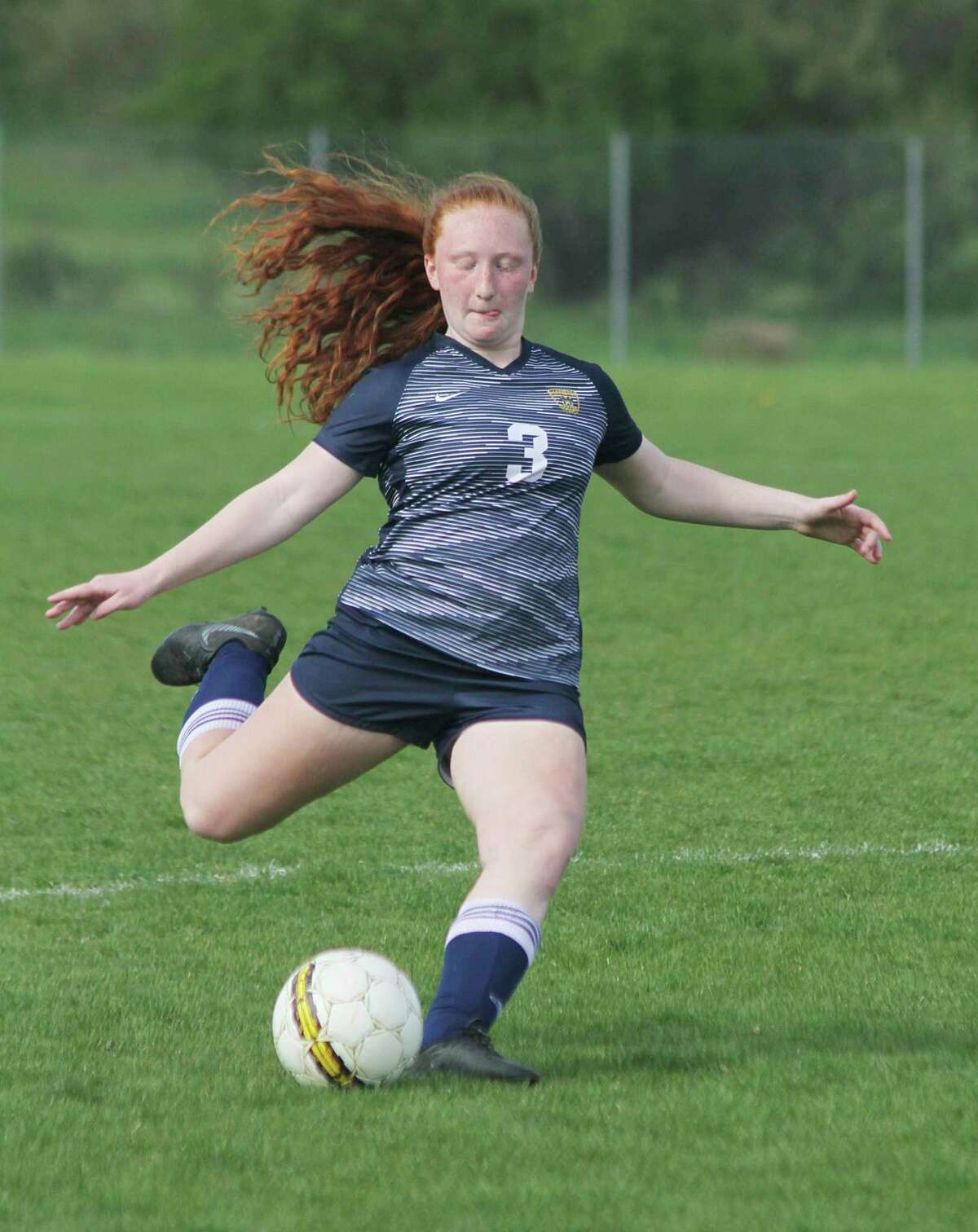 Manistee's Alora Sundbeck was an all-conference selection as a sophomore last season. (News Advocate file photo)