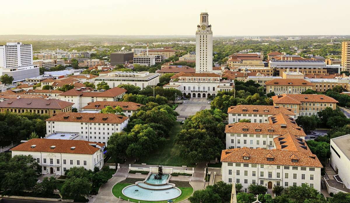 #2 University of Texas (UT) Austin  Avg. Scholarships: $10,671Avg. Starting Salary: $60,700Tuition: $10,398Cost of Living: $15,042Retention Rate: 95%College Education Value Index: 62.39