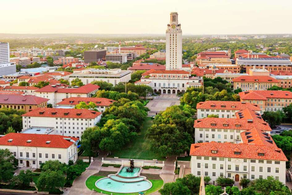 University of Texas (UT) Austin campus at sunset
