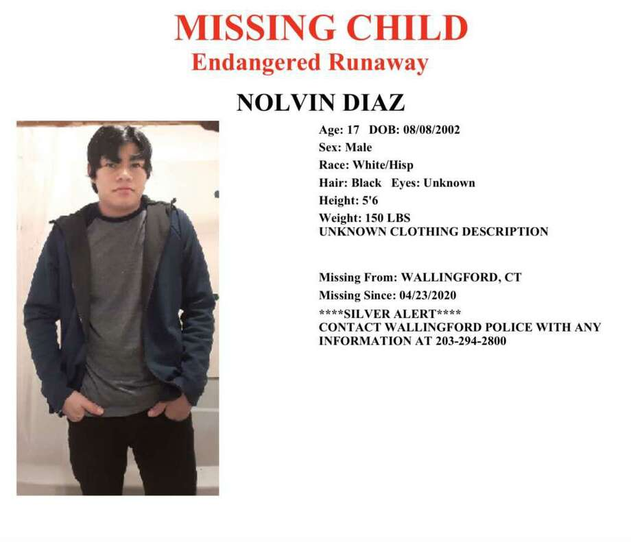 Nolvin Diaz's body was found by two kayakers in Community Lake behind the senior center in Wallingford around 1 p.m. on May 3, 2020.