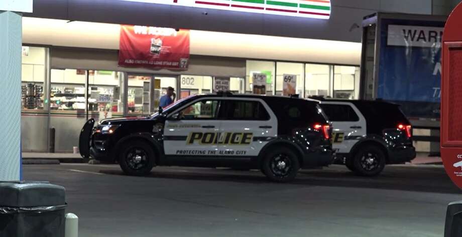 San Antonio police are looking for the suspects involved in several drive-by paintball attacks near the downtown area Monday night. Photo: Metro Video Services