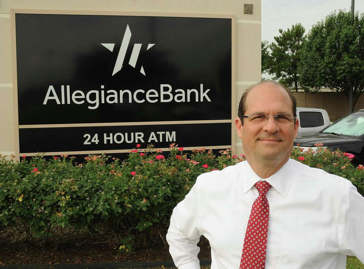 Allegiance Bank has been a Houston Chronicle Top Workplaces winner 10 times. Ray Vitulli, president and chief operating officer of Allegiance Bank at the company offices Friday May 31, 2019.