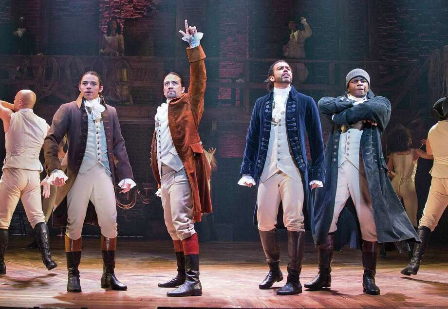 Blockbuster Broadway musical 'Hamilton' starring Lin-Manuel ...