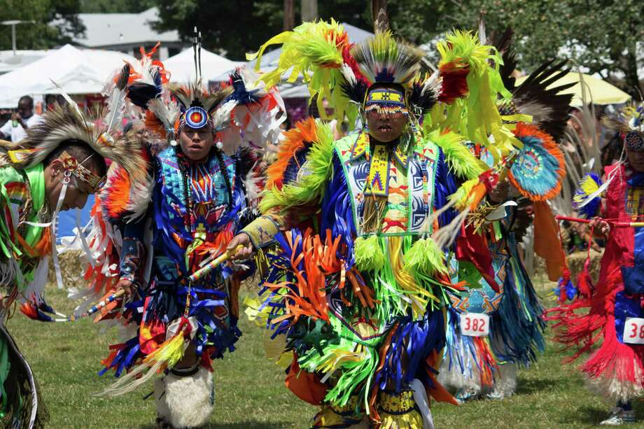 The 37th annual Thunderbird American Indian Mid-Summer Pow-Wow Queens NY Nations represented included: Hopi, Cherokee, Navajo, Apache, Kiowa and Choctaw tribes from Oklahoma, Aztecs, Seneca, Mohawk and Shinnecock Indians. Photo: Dreamstime / (c) Jwong526 | Dreamstime.com