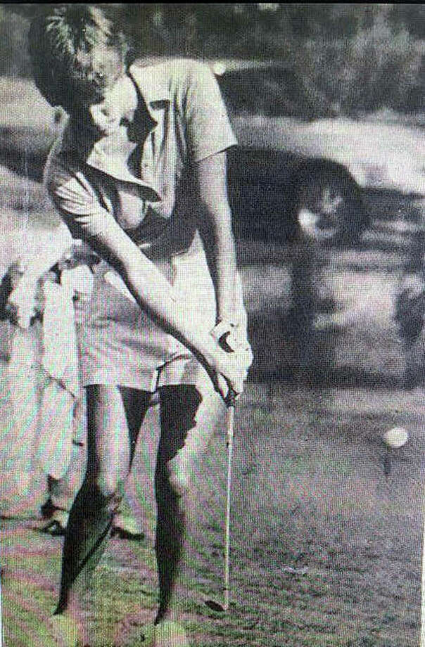 Edwardsville's Barb Anderson capped her high school career with a second-place finish in the girls state tournament in 1979. Photo: For The Intelligencer