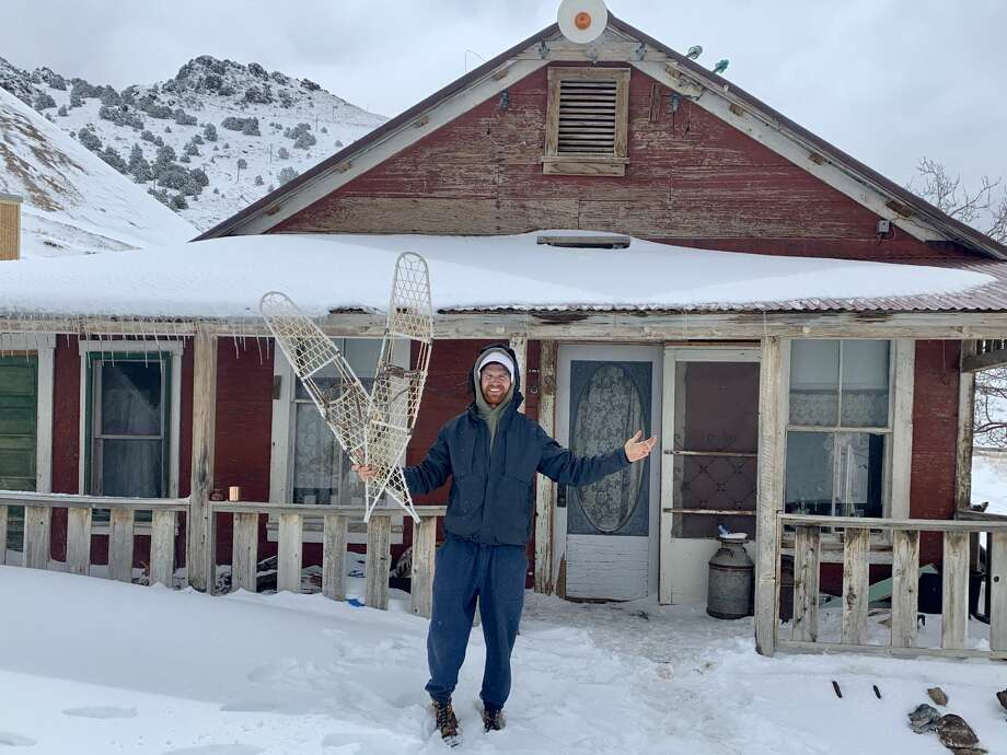 For the past two months as much of the world has been in lockdown, Brent Underwood has been quarantining in Cerro Gordo — a ghost town about 200 miles north of Los Angeles that has been abandoned since the late 1880s. Underwood is an Austin resident. Photo: Brent Underwood