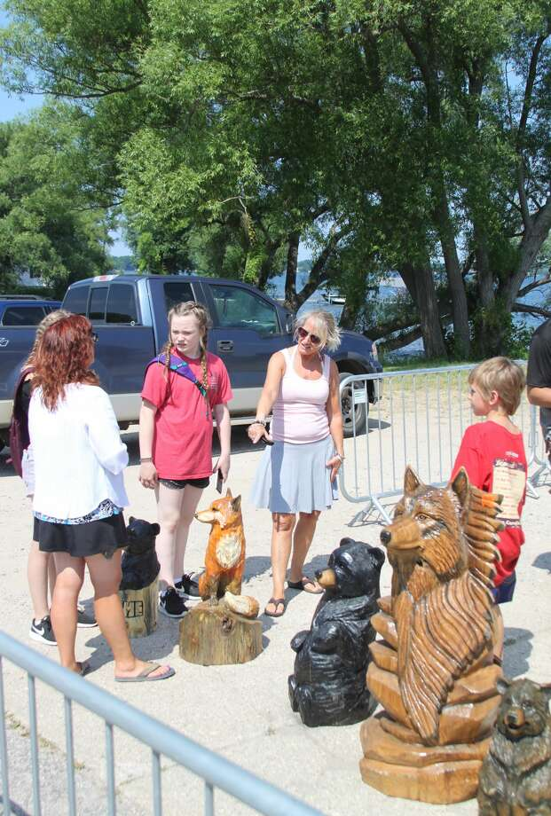 Bear Lake Days, which featured events like chainsaw carving, is cancelled. Photo: File Photo