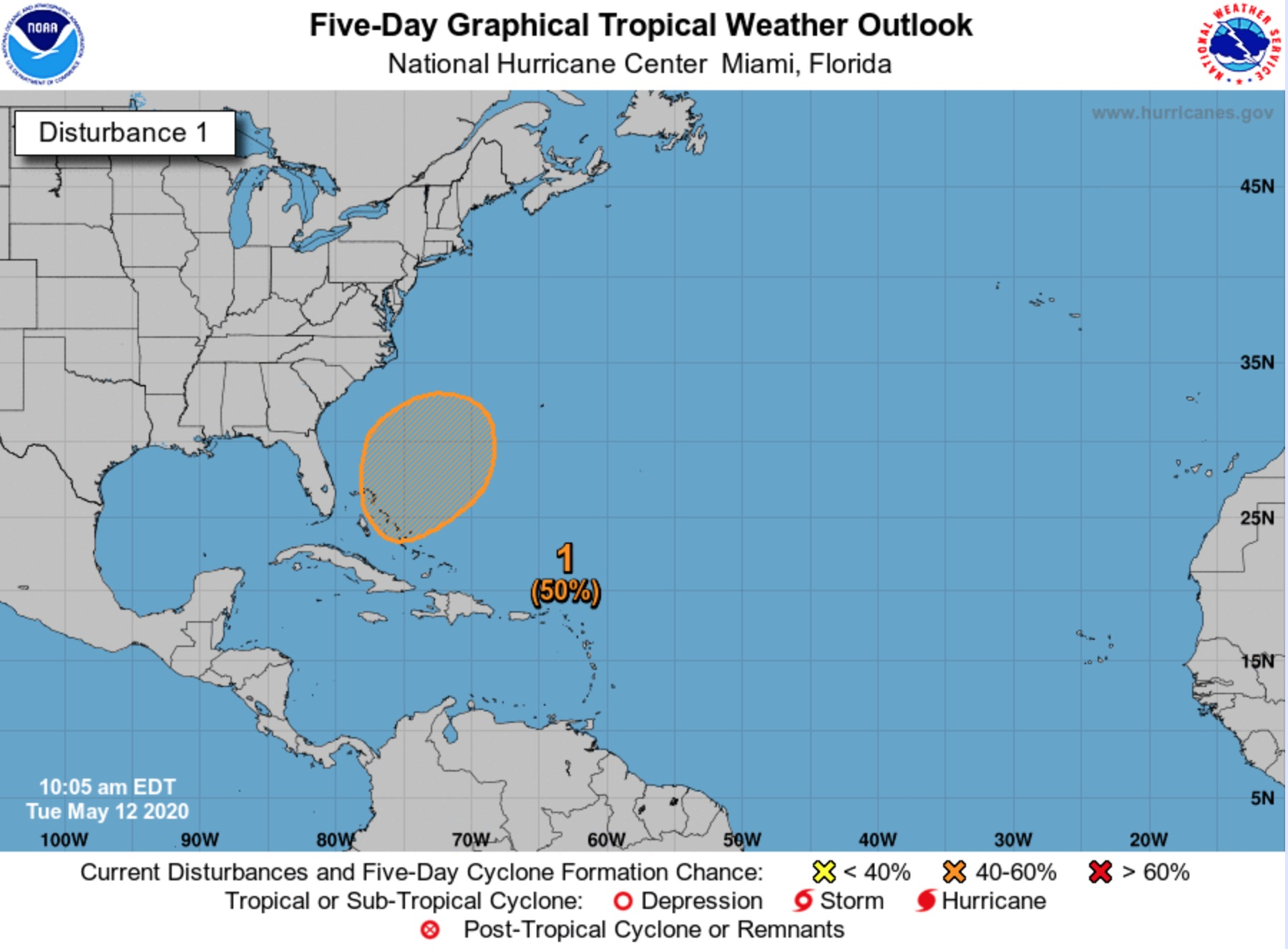 National Hurricane Center Finds First Disturbance Of 2020 Connecticut Post