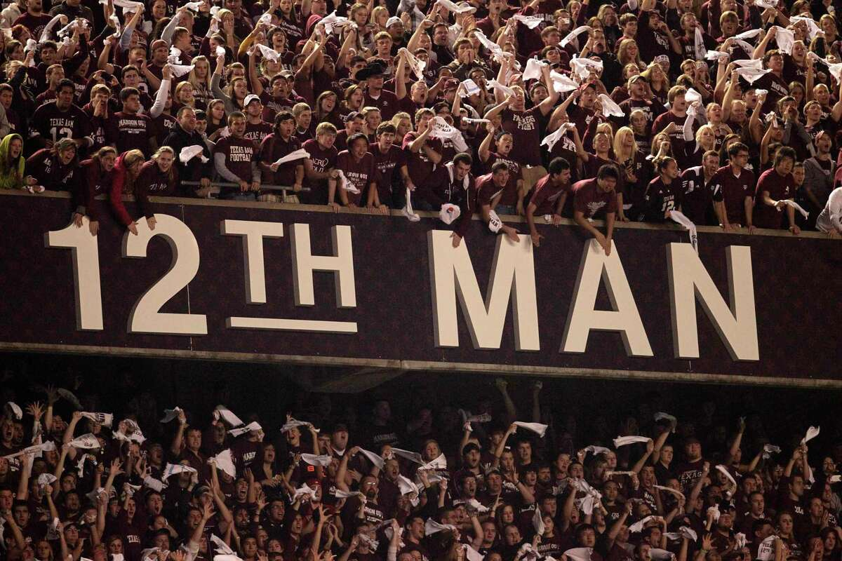 The 12th Man has become a fixture at Kyle Field.