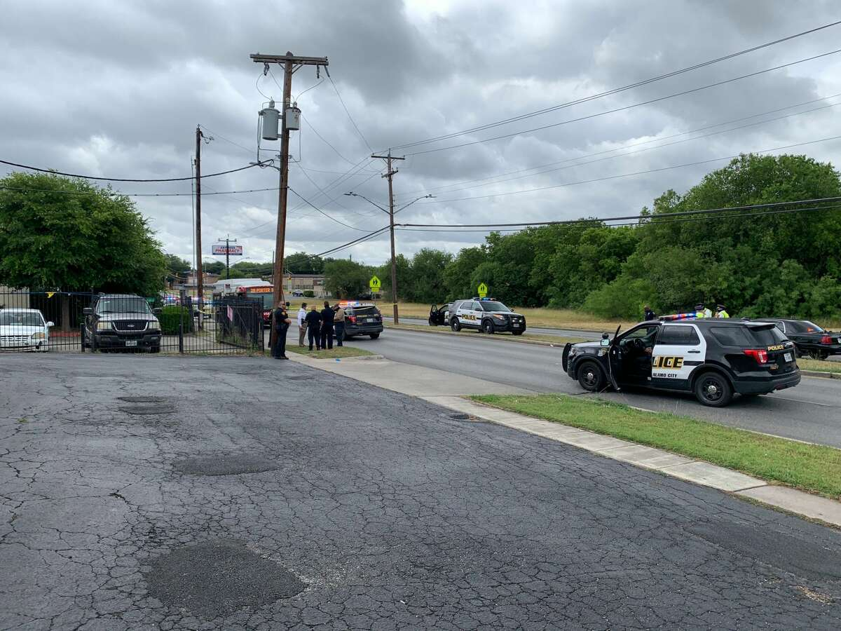One person is in critical condition after a shooting at a VIA bus stop on the Southeast Side, according to the San Antonio Police Department.