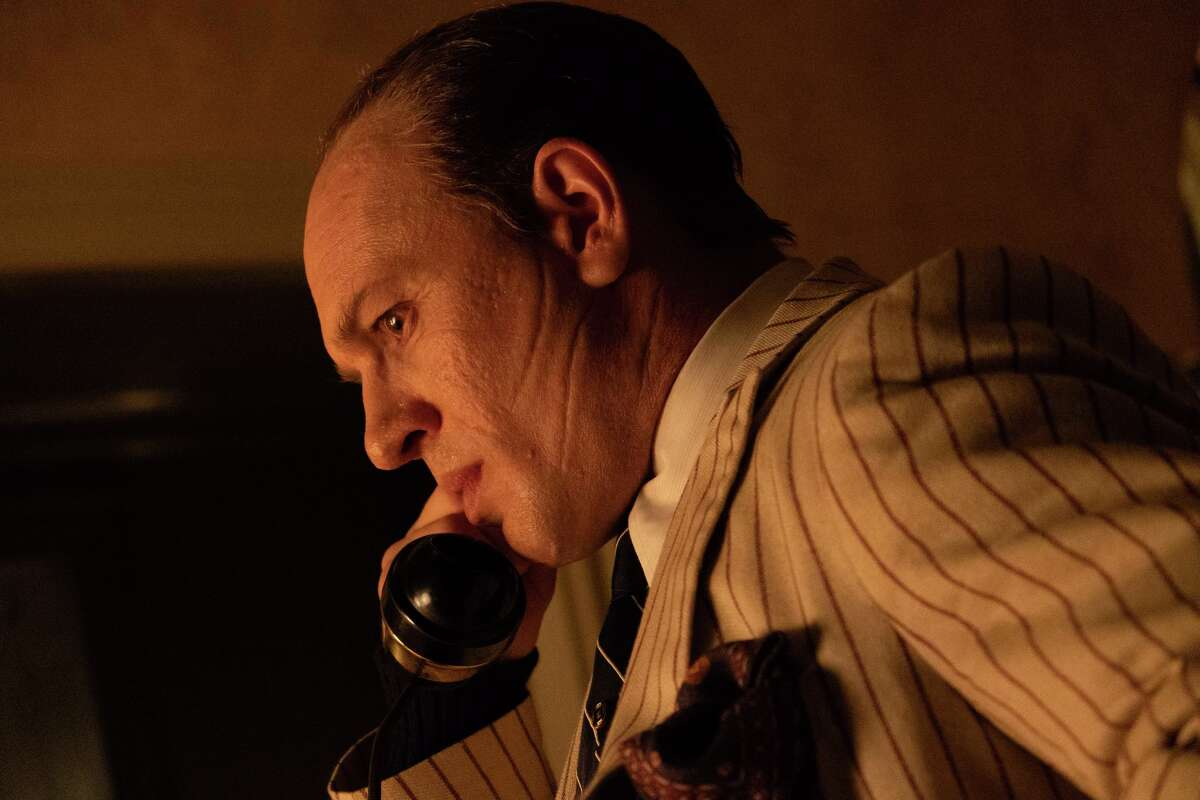"""Tom Hardy plays Al Capone in the last years of his life on """"Capone."""""""