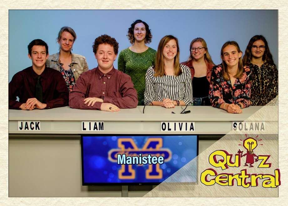 """Manistee High School and Tawas play during """"Quiz Central"""" Saturday at 5:30 p.m. on WCMU Public Television.Manistee is coached by Polly Schlaff and Kate Thomson, and team members include: Jack Holtgren, Liam Quinn, Olivia Holtgren and Solana Postma. Their alternates are: Eleanor Scarlata, Megan Huber and Cassie Pendry."""