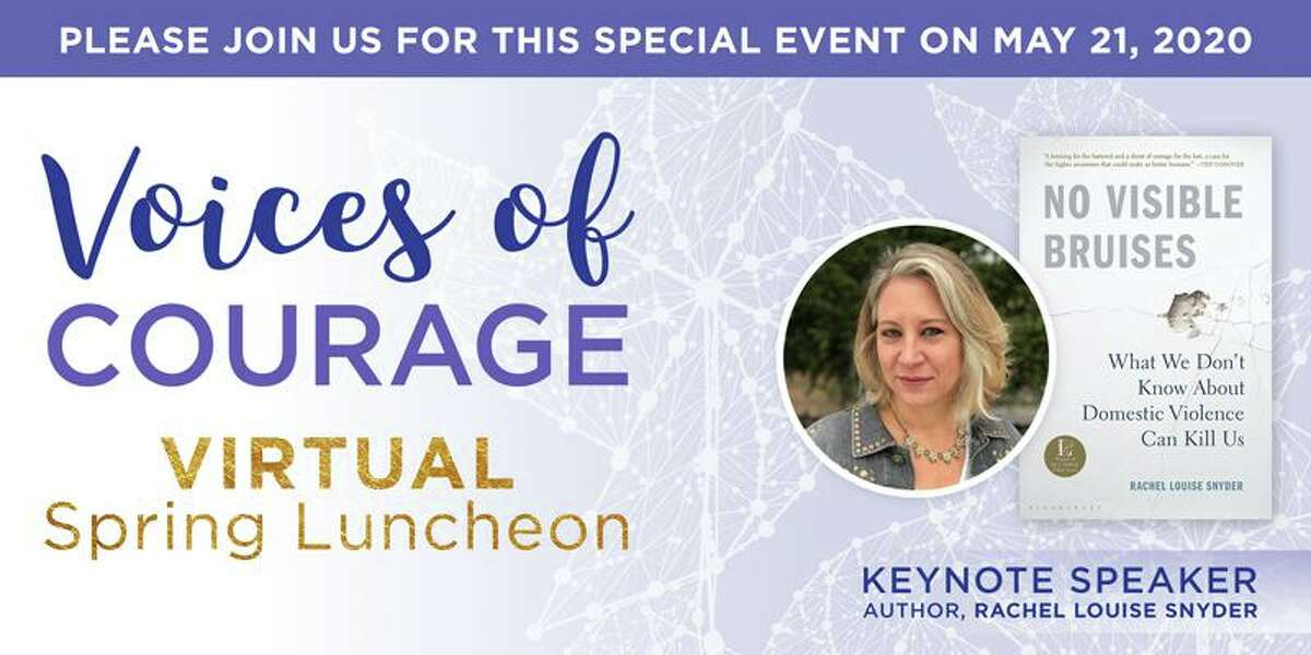 Domestic Violence Crisis Center will host Voices of Courage Virtual Spring Luncheon Thursday, May 21, from 11:45 a.m. to 1 p.m.