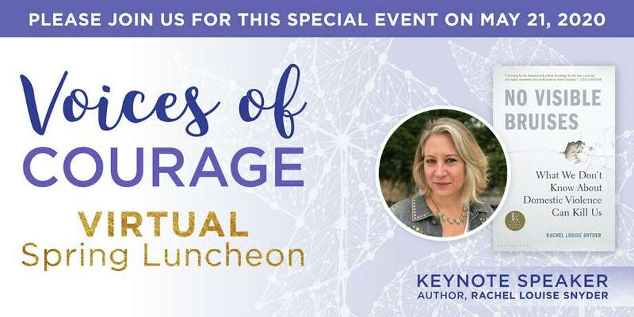 Domestic Violence Crisis Center will host Voices of Courage Virtual Spring Luncheon Thursday, May 21, from 11:45 a.m. to 1 p.m. Photo: Contributed Photo