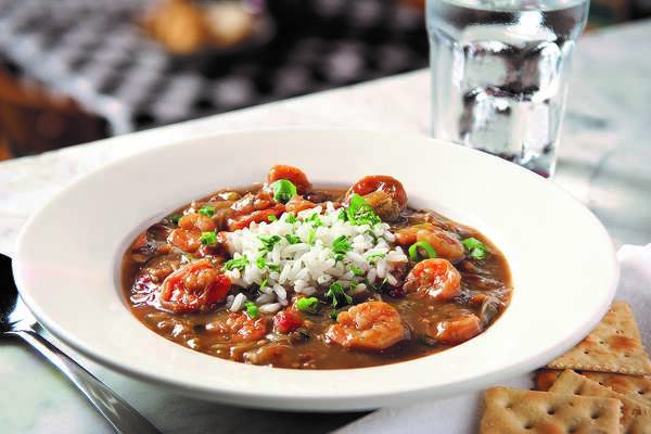 Seafood gumbo at Acme Oyster House.
