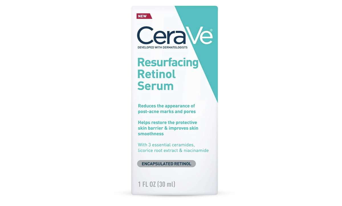 CeraVe Resurfacing Retinol Serum, $16.97Another budget-friendly, but well-trusted brand is CeraVe. This is a good serum to use if you're focusing on acne scarring and post-breakout marks. It is formulated with encapsulated retinol to restore the protective barrier of your skin and improve smoothness.