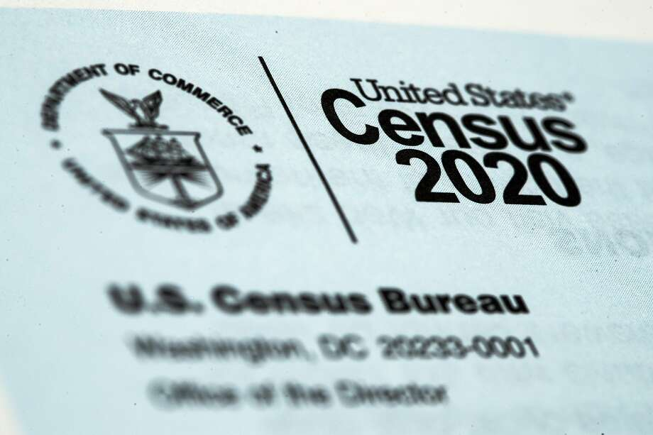 FILE - This March 19, 2020, file photo, shows a 2020 census letter mailed to a U.S. resident in Glenside, Pa. Just how badly has the new coronavirus impacted life in the U.S.? The U.S. Census Bureau, along with five other federal agencies, will try to answer that question with a new experimental, weekly survey that just got approved earlier this week. (AP Photo/Matt Rourke, File) Photo: Matt Rourke, Associated Press