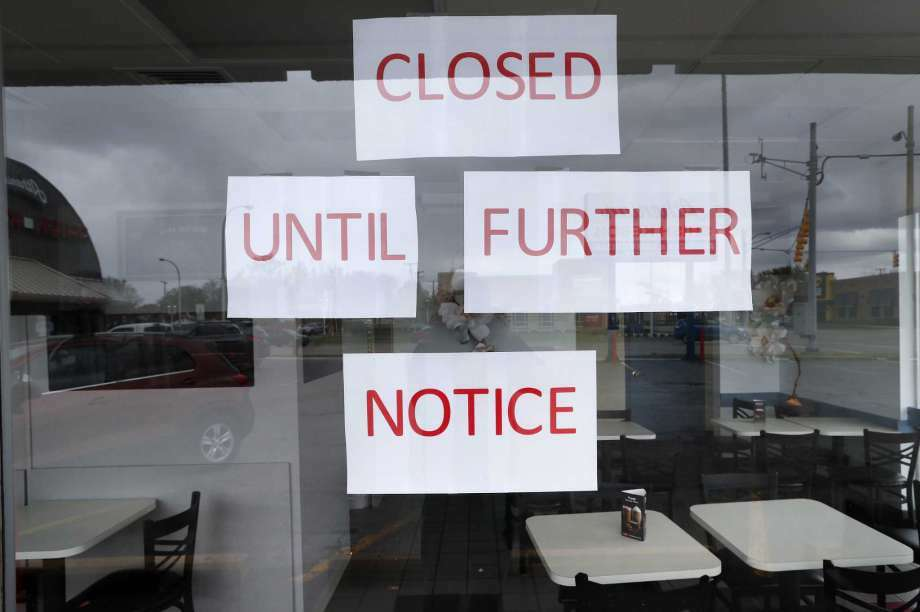 Many restaurants have closed due to the coronavirus pandemic. Photo: Paul Sancya, AP