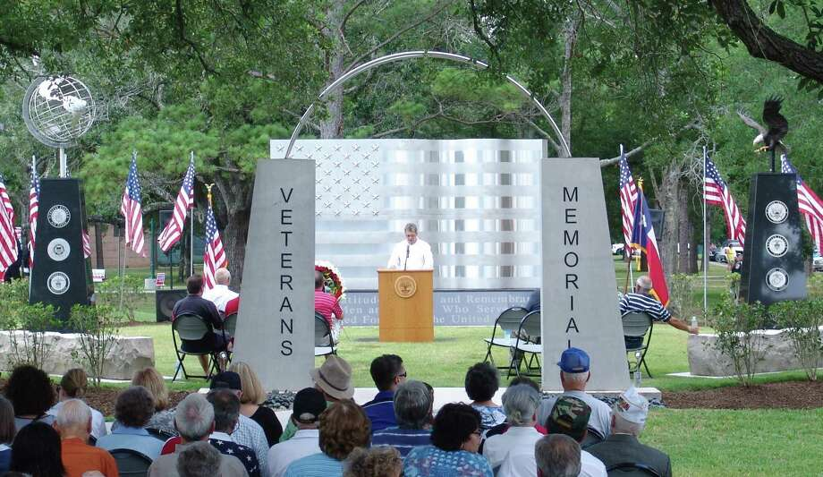 Friendswood's Memorial Day event will have a different look this year, as the long-standing event will be replaced by a video that will be available online as part of the city's continued effort to stem the flow of the novel coronavirus. Photo: JEFF NEWPHER / The Journal / The Journal
