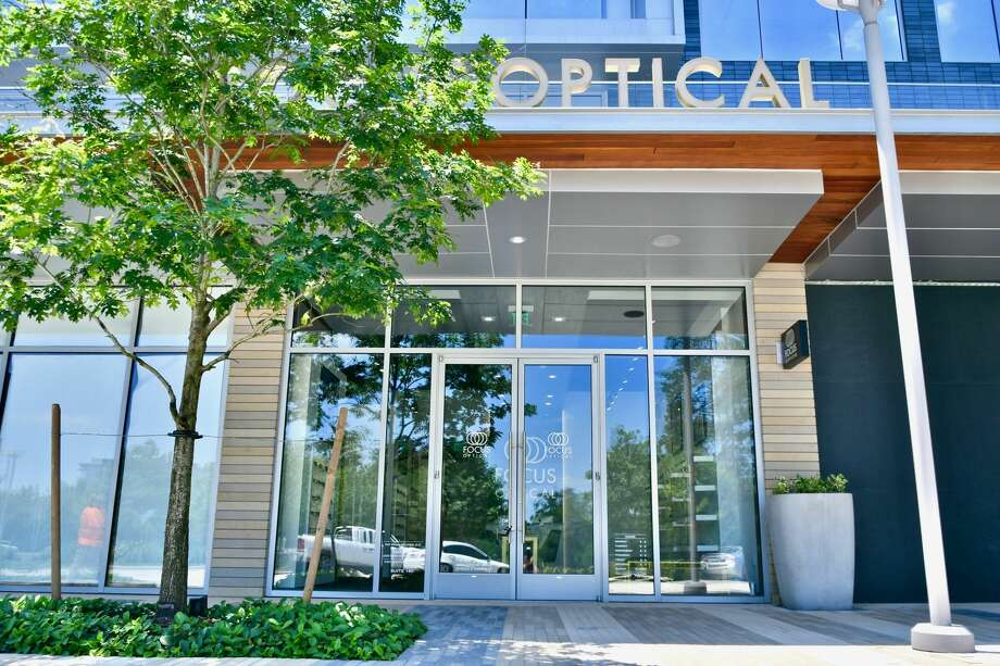 Focus Optical is now open on the ground floor of the CityPlace 1 building at 1700 City Plaza Drive in Springwoods Village. Photo: Patrinely Group