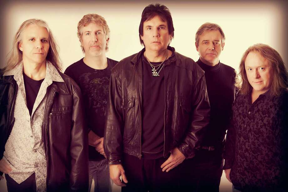 From left, Vinyl Revolution membersGary Fox Jr., Brian Camilleri, Wint Fenderson, John Mcllhoney and Jamie Sherwood, who are giving a concert on Facebook Live May 16. Photo: Vinyl Revolution / Contributed Photo