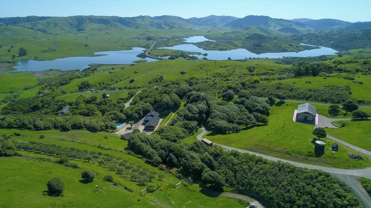 West Wind Estate at 333-345 Willow Road in Nicasio includes 32 acres on Black Mountain, which the current owners purchased in 1985 when it was vacant land. Owner John Klock and his wife wanted to build their vision of