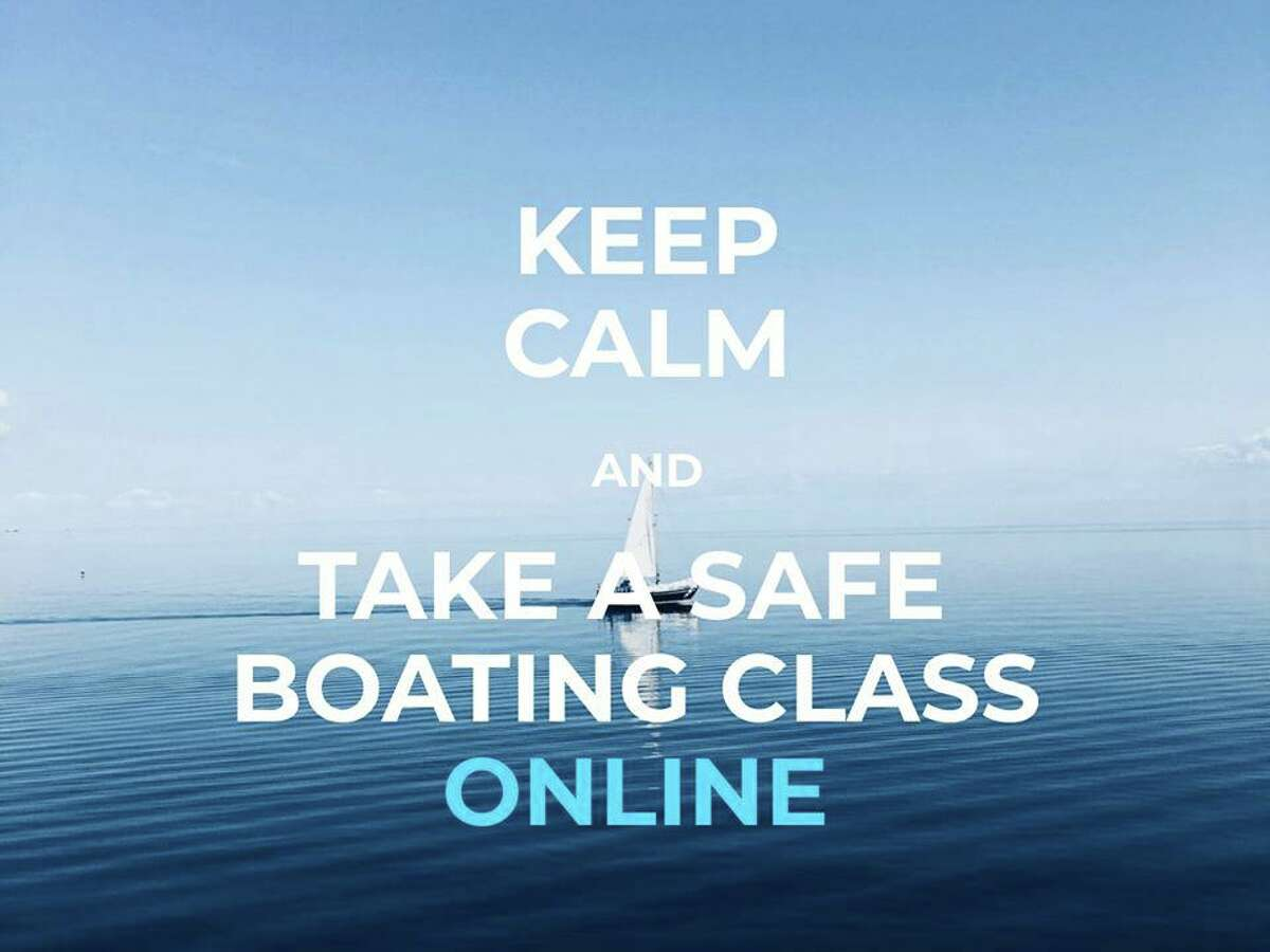 A photo posted on the Boating in Connecticut Facebook page along with the message about online boating class availability.