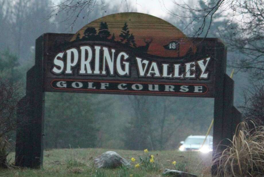 Spring Valley and other area golf courses are now able to offer motorized carts. (Pioneerfile photo)