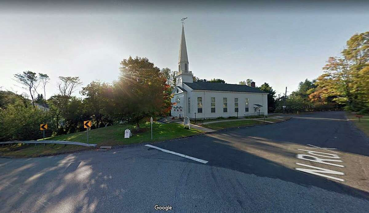 State Police are investigating a motorcycle crash that resulted in the driver fleeing the scene Tuesday morning on May 12, 2020 in Harwinton. Just before 7 a.m., a motorcycle struck the guardrail on Route 4 (Litchfield Road) near the intersection of North Road, in front of the Center Congregational Church.