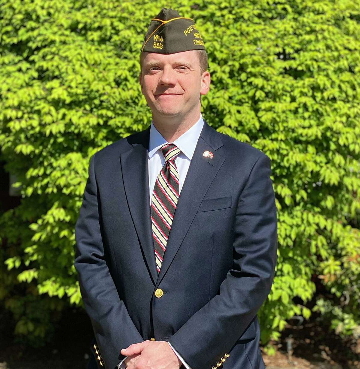 Russell Kimes III, assistant fire chief and New Canaan VFW Post commander, was named the town's director of Emergency Management Tuesday, Sept. 8.