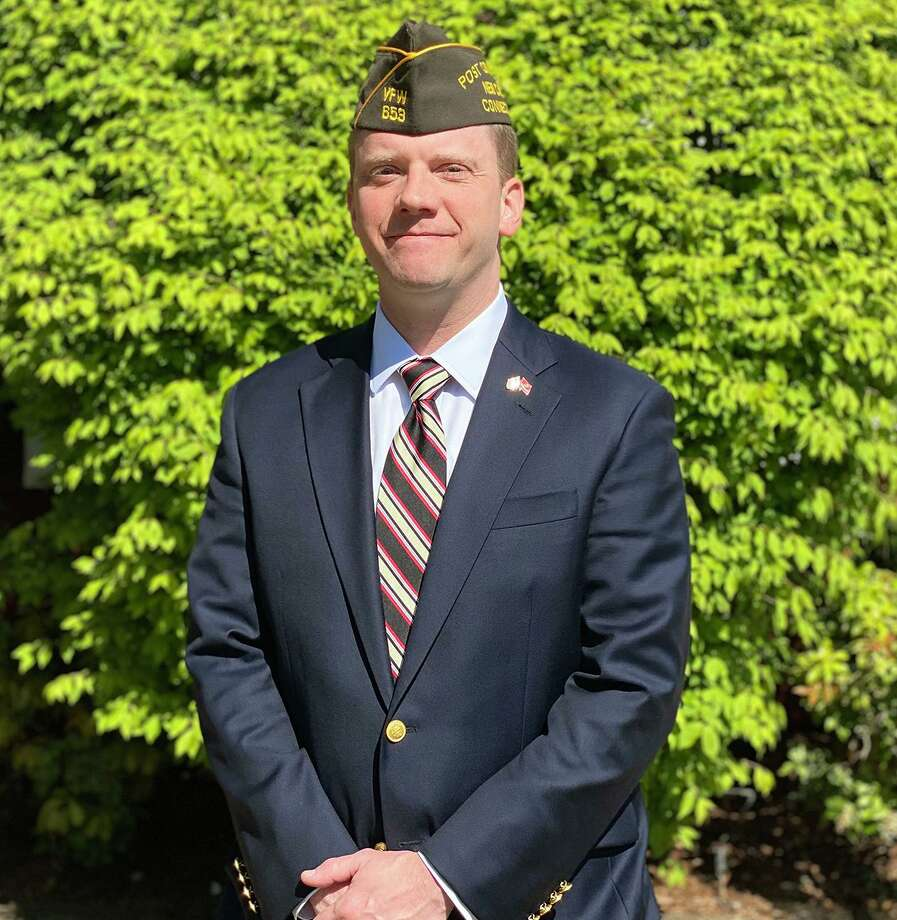 Newly elected VFW Post Commander Russell Kimes, III Photo: Contributed Photo