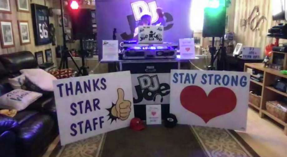STAR's Walk and Family Fundraiser kick-off held May 3 was led by STAR participant and trained DJ, DJ Joe who provided music. Photo: Contributed Photo