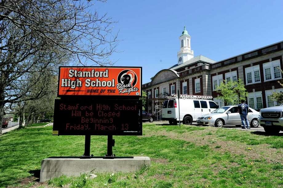 Stamford High School Photo: Matthew Brown / Hearst Connecticut Media / Stamford Advocate