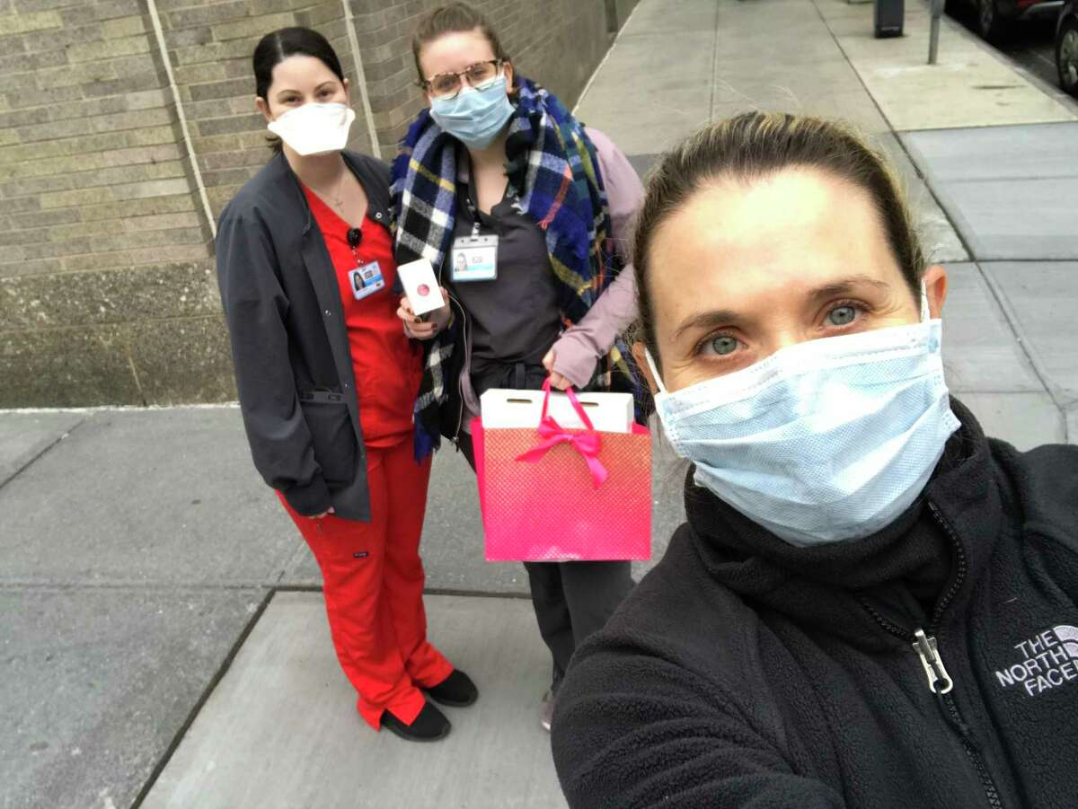 Solemates, a local company founded by Greenwich native Monica Ferguson and Becca Brown, has a product that is aiding healthcare workers that are experiencing face-chafing, due to wearing N95 masks during the COVID-19 pandemic.