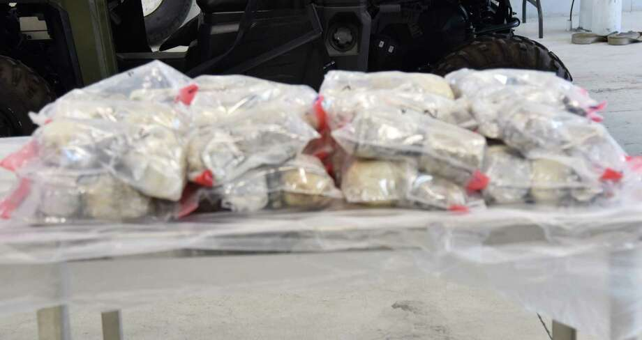 U.S. Customs and Border protection said they seized $1.3 million in meth from a woman at the Juarez-Lincoln International Bridge. The contraband weighed more than 68 pounds. Photo: Courtesy Of U.S. Customs And Border Protection