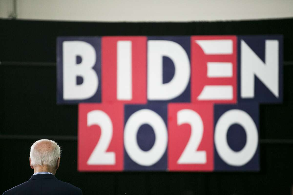 FILE -- Former Vice President Joe Biden, the presumptive Democratic presidential nominee, at a campaign event in Sumter, S.C., Feb. 28, 2020. The former vice president has unified the party and is leading in the polls. But some Democrats say he faces familiar challenges, including slow decision-making and flaws in his digital operation. (Maddie McGarvey/The New York Times)