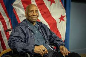 Leroy Tonic Sr. is pictured at the John A. Wilson Building after being honored by the District of Columbia City Council in 2019.