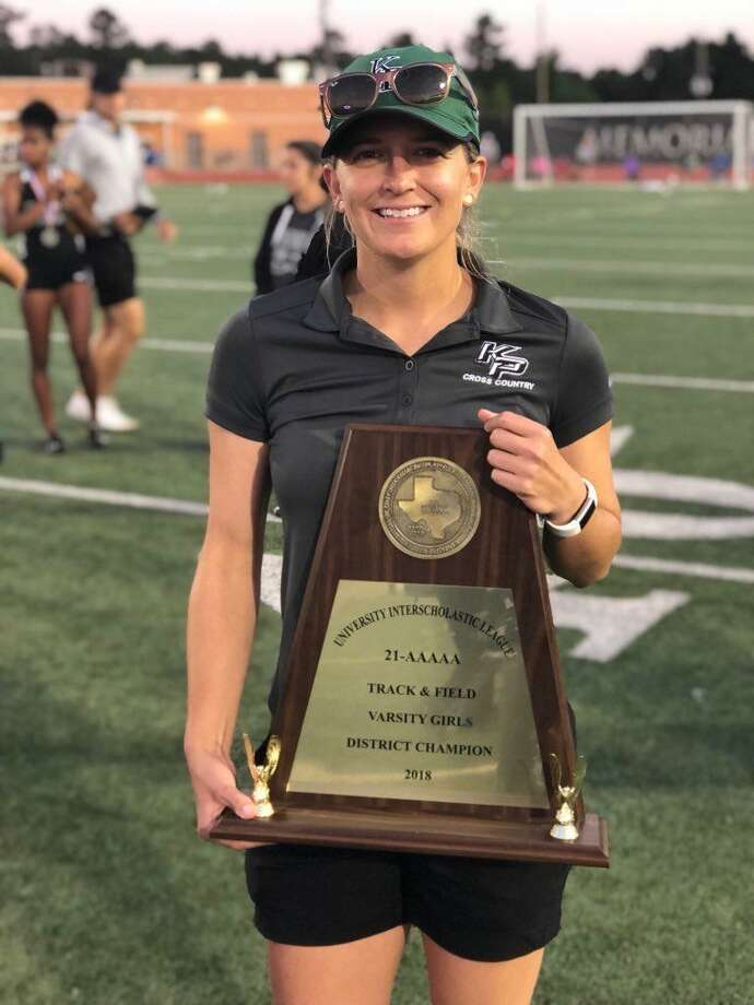 After three years at Kingwood Park, Erica Hannemann is the new head coach of the Grand Oaks girls cross country team. Photo: Submitted Photo
