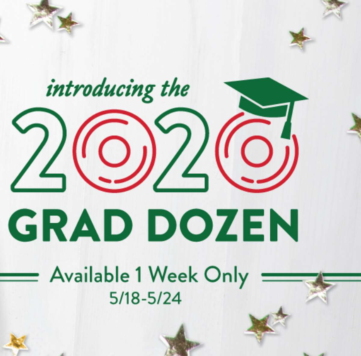 A new 2020 Graduate Dozen will be available for purchase the week of 5/18-5/24.  To sweeten the deal
