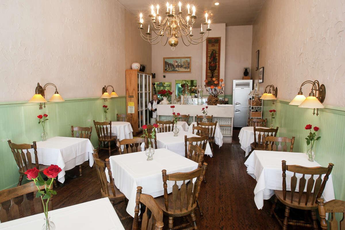 A file photo of chef-owner Jacqueline Marguli inside Cafe Jacqueline.