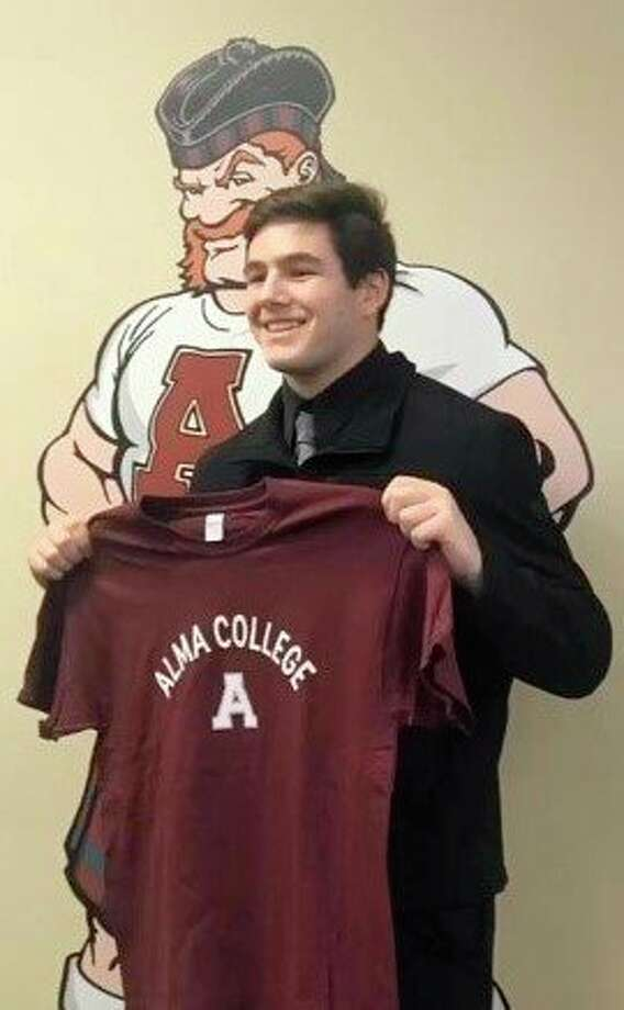 Onekama's Dalron Gray was drawn to Alma College due to the smaller school's more personal atmosphere. (Courtesy photo)