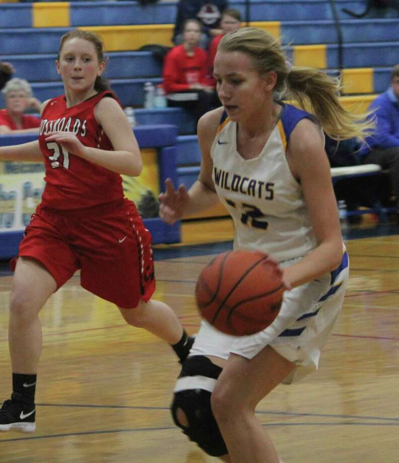 Kara Henry is a three-sport athlete for the Evart Wildcats. (Pioneer file photo)