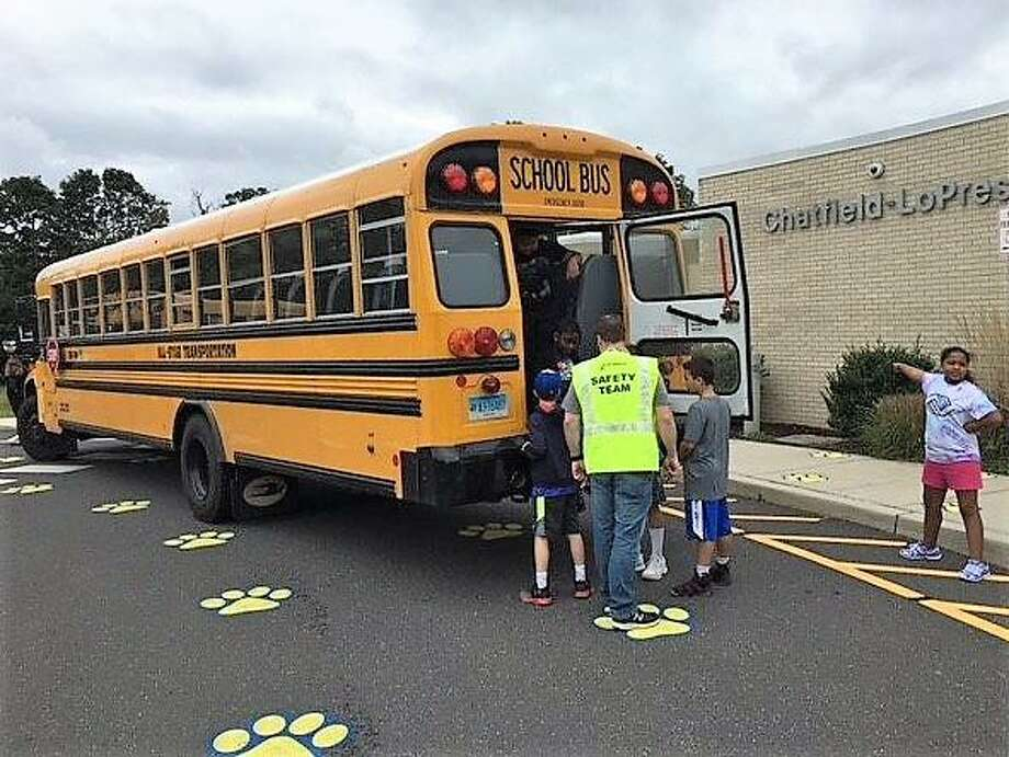 When the coronavirus pandemic abruptly closed schools in mid-March, Seymour school bus drivers never imagined they wouldn't see their beloved students again. Photo: Contributed Photo
