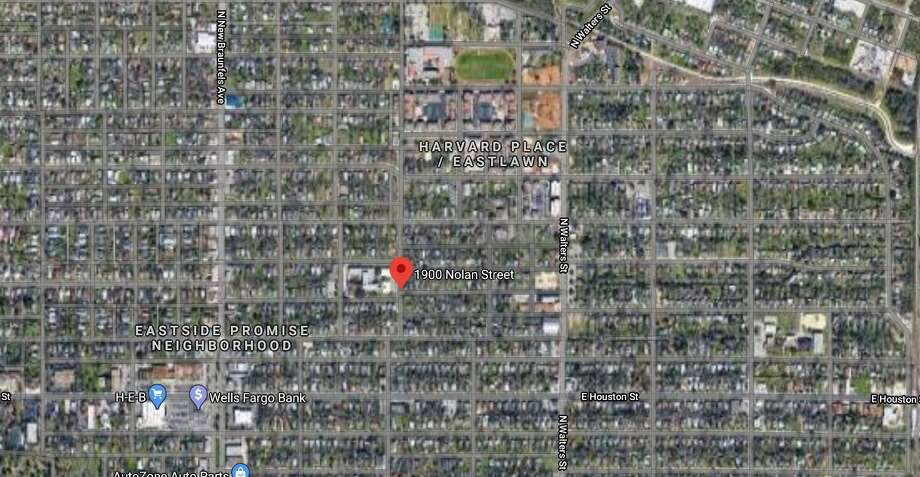 One person was hospitalized after being rescued from a burning house early Thursday morning, the San Antonio Fire Department said. Photo: Google Maps