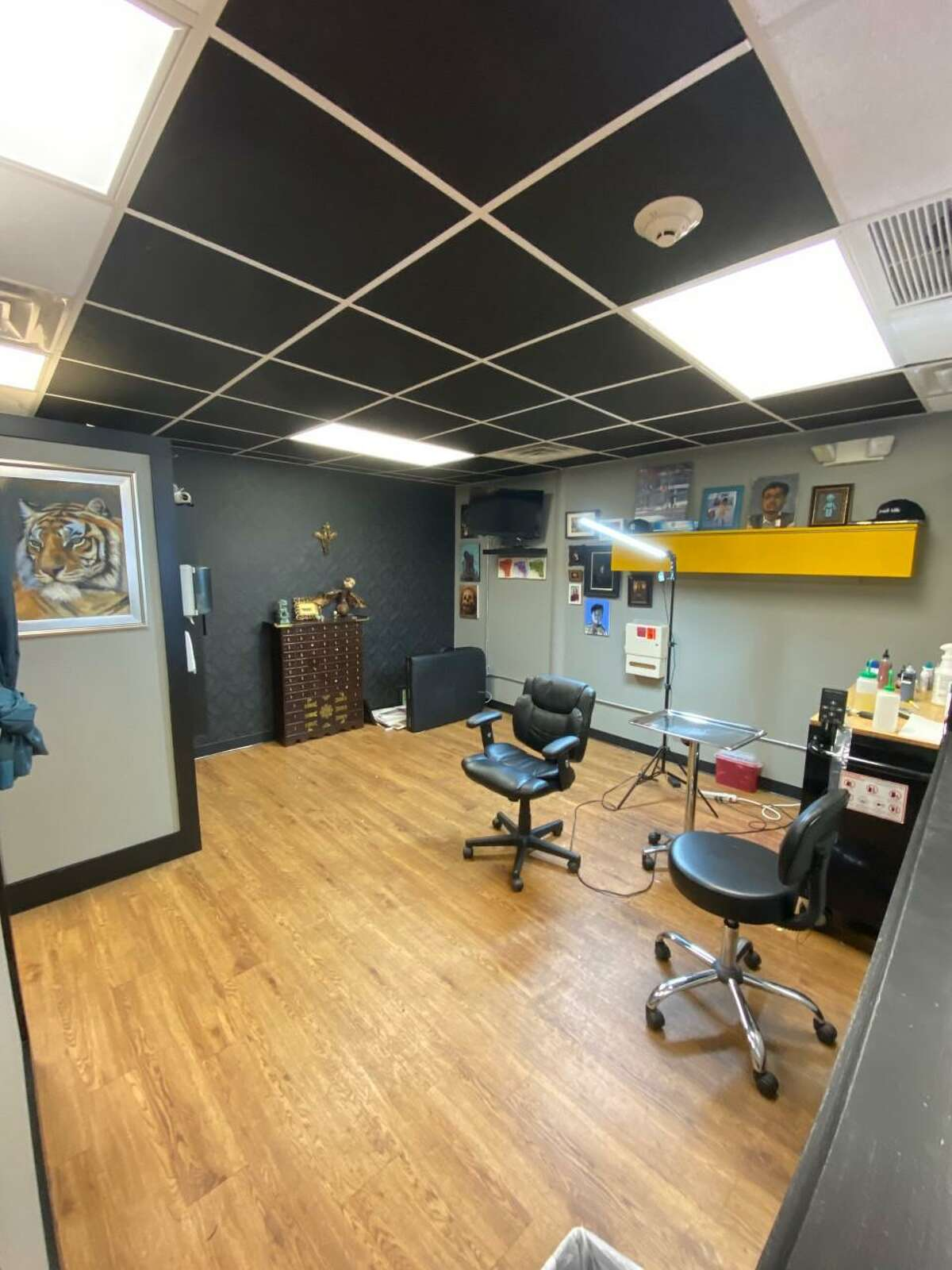 A look inside of Causality Tattoo Company in Norwalk