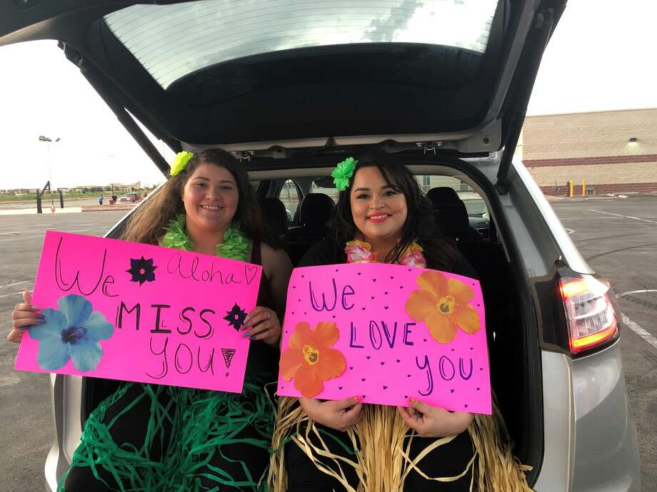 SHARE hosted a parade Monday at the parking lot of Crossroads Church in Odessa. Photo: Courtesy Photo