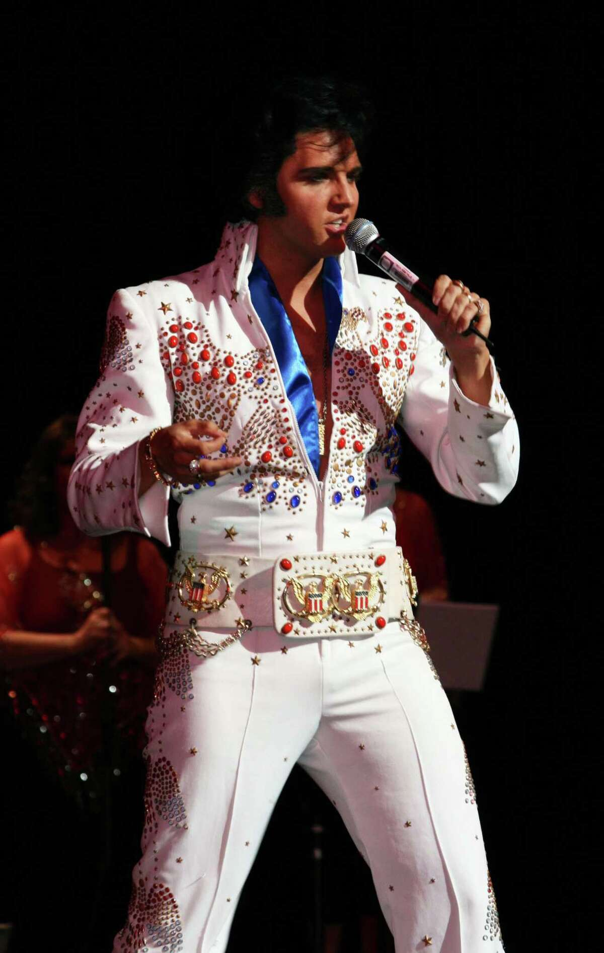 Elvis tribute artist Donny Edwards returns to the Crighton Theatre March 26-27. His original show was scheduled for March 2020 and has been rescheduled several times due to the pandemic. The show is now split into three shows Friday night, Saturday afternoon and Saturday night to allow for social distancing among the seats.