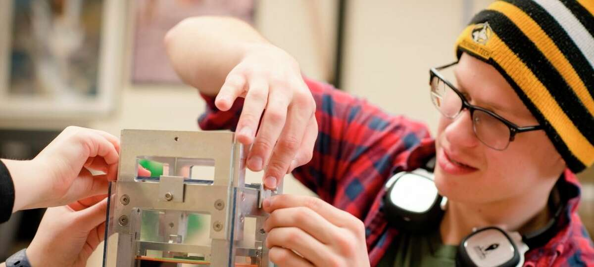 Michigan Tech's Aerospace Enterprise empowers undergraduate students to design, build, and fly spacecraft. (Michigan Tech/Courtesy Photo)